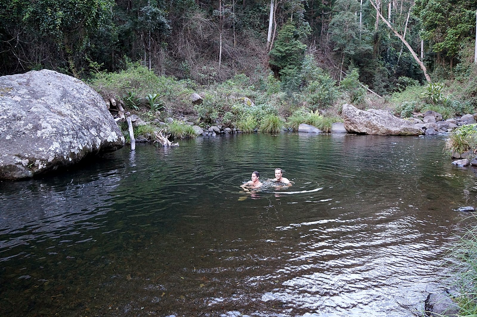 Christmas Creek Swimming Hole Big Enough For Two